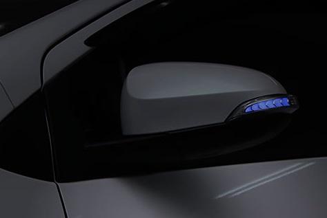 AVEST Vertical Arrow カローラフィールダー ZNE16# NKE16# Type Zs LED 流れるドアミラーウィンカーレンズ オプションランプブルー AV-024-B アベスト