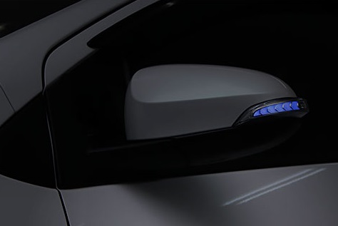AVEST Vertical Arrow カローラアクシオ ZNE16# NKE16# Type Zs LED 流れるドアミラーウィンカーレンズ オプションランプブルー AV-024-B アベスト