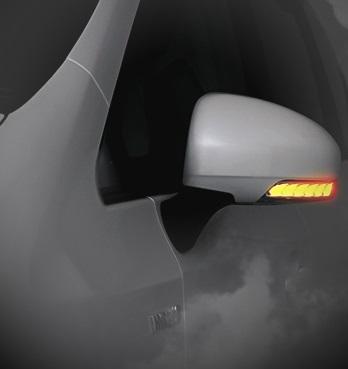 AVEST Vertical Arrow プリウスα ZVW40 ZVW41 前期 後期 G's Type Zs LED ドアミラーウィンカーレンズ ブロンズゴールドxランプホワイト AV-010-W-P アベスト