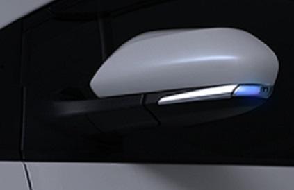 AVEST Vertical Arrow プリウスPHV ZVW52 Type Zs LED 流れるドアミラーウィンカーレンズ インナーシルバーxランプブルー AV-021-B アベスト バーチカルアロー