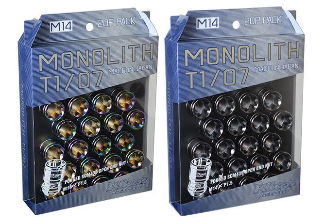 協永産業 T1/07 M14×P1.5 20個入り 貫通ナット Neochro ネオクロ MN04N KYO-EI Kics MONOLITH キックス モノリス