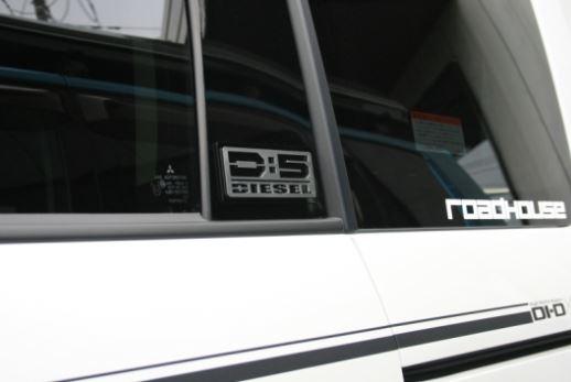 ロードハウス デリカD:5 D5 前期 DIESELエンブレム 3枚セット KD-EX01063 ROADHOUSE