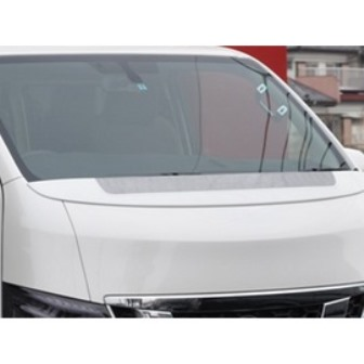 mac マック NV350キャラバン E26 ワイパーガード FRP+シルバーカーボン スターリングブリック STERLING BLICK 配送先条件有り