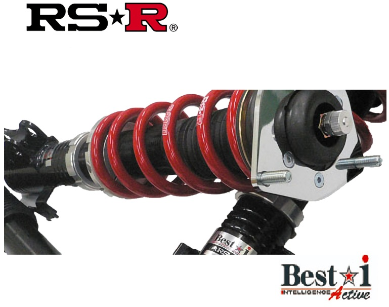 RS-R クラウンハイブリッド GWS224 RSアドバンス 車高調 リア車高調整: ネジ式 BIT968MA ベストi アクティブ RSR 個人宅発送追金有