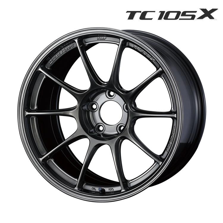 WedsSport TC105X ホイール 1 本 18インチ 11.0J+15 5H114.3 5穴 EJ-TITAN weds ウェッズスポーツ・TC105X