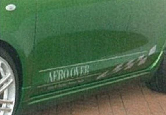 K-FACTORY AEROOVER ヴィッツ KSP90/SCP90/NCP91 前期(RS除く) サイドスカート FRP製 未塗装 エアロオーバー ケーファクトリー 配送先条件有り