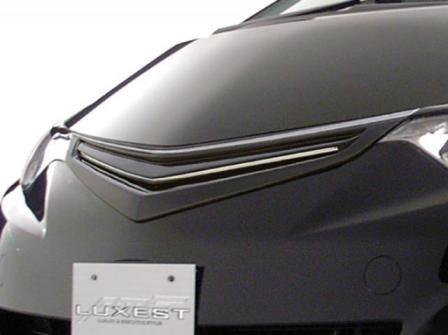 AMS エスティマ アエラス GSR ACR50 55W 前期 フロントグリル タイプB 塗装済 LUXEST ラグゼス