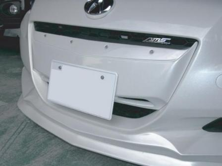 AMS CR-Z ZF1 フロントグリル ナンバープレート仕様 未塗装 TERRA テラ