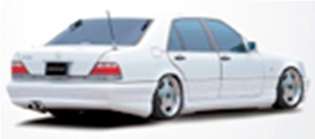 ARTISAN SPIRITS メルセデス・ベンツ Sクラス W140 リアバンパースポイラー ASセレクトライン アーティシャンスピリッツ 配送先条件有り