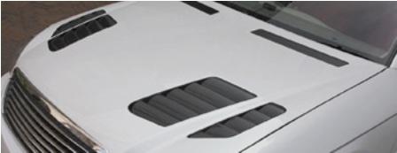 ブローデザイン モードパルファム シーマ F50 後期 スタイリッシュボンネット&トランクセット BLOWDESIGN MODE PARFUME PHANTOM GA-MU
