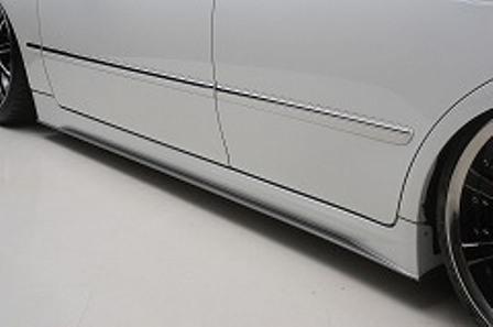 BLACK PEARL ブラック パール JEWELRY LINE ジュエリーライン サイドステップ 未塗装 クラウン GRS180~184