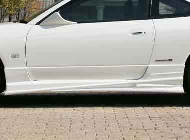 BOMEX ボメックス BOMEX COLLECTION ボメックスコレクション サイドステップ S15-SS-01 未塗装品 ゲルコート シルビア S15