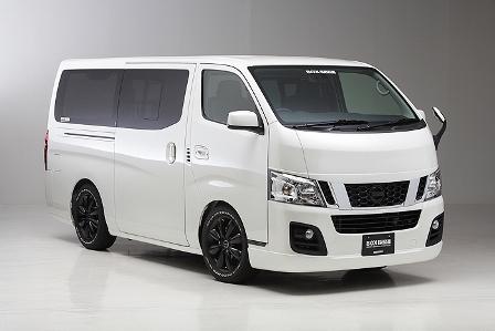 ボクシースタイル NV350キャラバン E26 標準(ナロー)/5ドア/ロング用 サイドスポイラー boxystyle