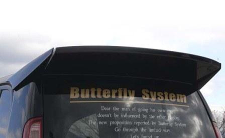 Butterfly System バタフライシステム ライフダンク JB3.4 リアウィング ウイング 黒死蝶