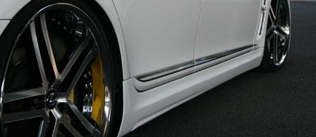 JUNCTION PRODUCE ジャンクションプロデュース Sports NERO レクサス LS460/460L/600h/600hl ロング/ショート用別 サイドステップ FRP 配送先条件有り