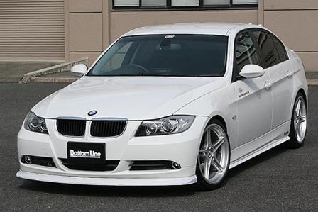 チャージスピード BMW E90 前期 3シリーズ 3点セット FRP CHARGESPEED BottomLine ボトムライン