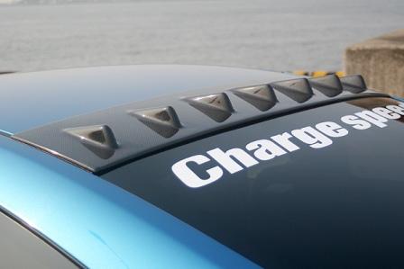 チャージスピード スカイライン CPV35 前期 ルーフフィン カーボン CHARGESPEED BottomLine ボトムライン