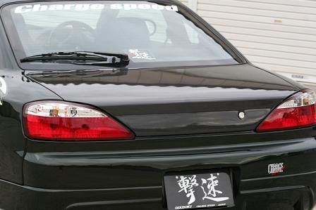 チャージスピード シルビア S15 トランク カーボン CHARGESPEED 撃速CHARGE SPEED 撃速チャージスピード