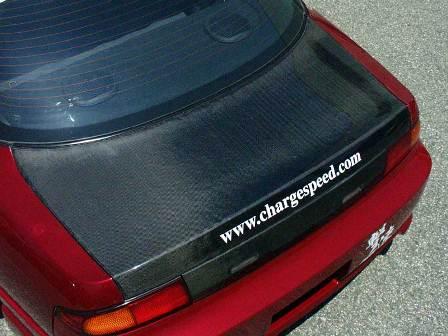チャージスピード シルビア S14 トランク カーボン CHARGESPEED 撃速CHARGE SPEED 撃速チャージスピード