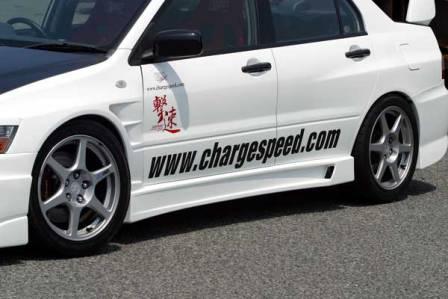 チャージスピード ランエボ ランサー ワゴン CT9W エボリューション9 サイドステップ タイプ1 CHARGESPEED 撃速CHARGE SPEED 撃速チャージスピード