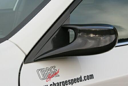 チャージスピード インプレッサWRX GRB/GRF C型 STI エアロミラー タイプ2 カーボン CHARGESPEED BottomLine ボトムライン