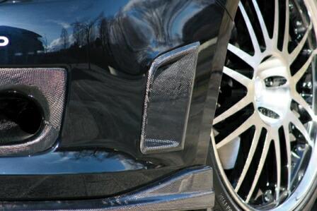 チャージスピード インプレッサWRX GRB/GRF C型 STI フロントバンパーサイドダクト タイプ2 カーボン CHARGESPEED BottomLine ボトムライン