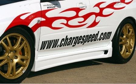 チャージスピード インプレッサ GD# A/B型 サイドステップ タイプ2 CHARGESPEED 撃速CHARGE SPEED 撃速チャージスピード