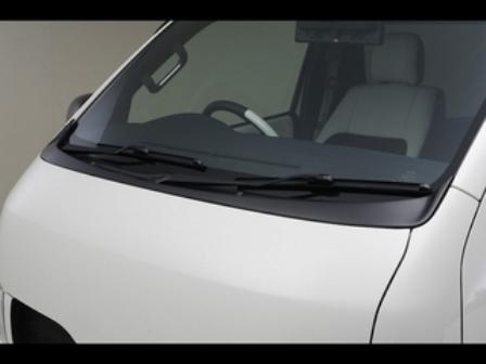 ハイエース 200系 標準 ナロー ワイパーガード 未塗装 CRS ESSEX エセックス シーアールエス