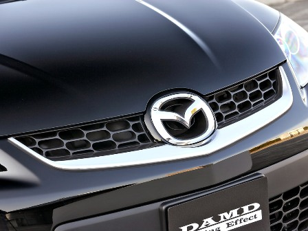 DAMD ダムド フロントグリルガーニッシュ CX-7 ER3P スタイリングエフェクト ABS