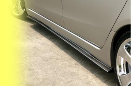 DAMD ダムド サイドエクステンション グランディス NA4W スポーツスタイル専用 スタイリングエフェクト カーボン