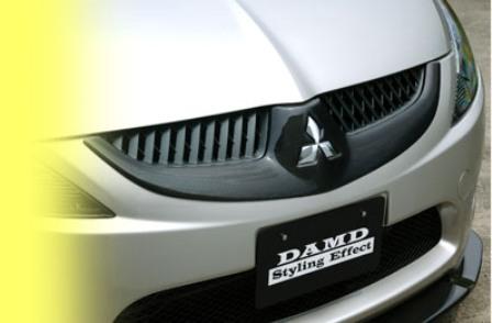 DAMD ダムド カーボングリルガーニッシュ グランディス NA4W スポーツスタイル専用 スタイリングエフェクト カーボン
