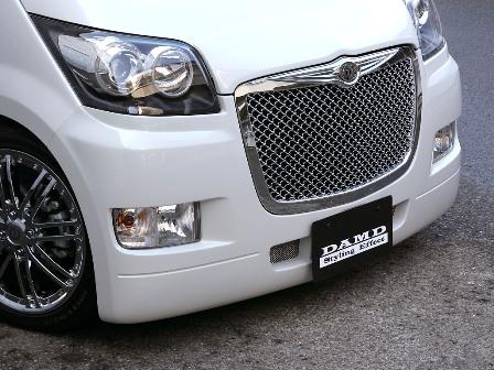 DAMD ダムド StylingEffect スタイリングエフェクト フロントバンパー 未塗装 ムーヴ L175S