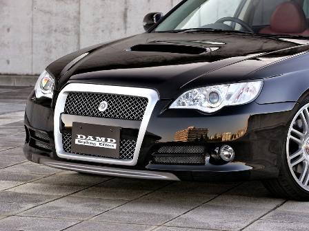 DAMD ダムド フロントバンパー レガシィ ツーリングワゴン BP5 D~F型 スタイリングエフェクト カーボン