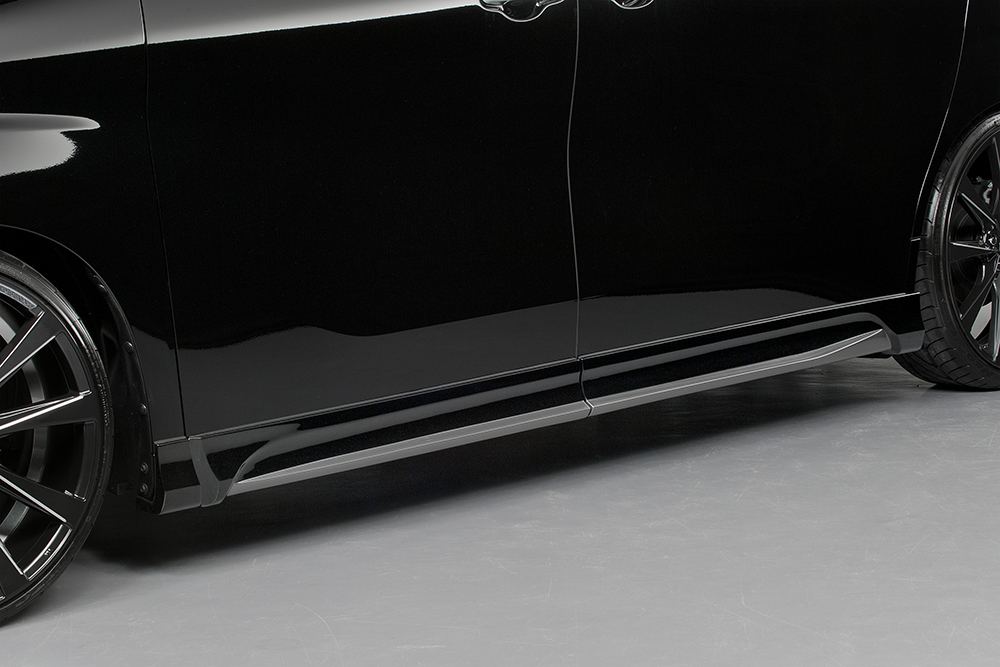 ROJAM ロジャム ヴェルファイア 30系 AGH3W GGH3W AYH3W 前期 Z/ZA/ZR/Z-Gエディション/ZR-Gエディション サイドステップモール 未塗装 IRT 21-ss-va30zs