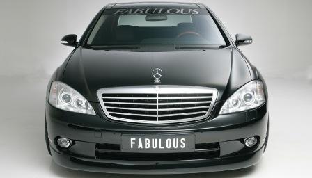 ファブレス メルセデス・ベンツ W221 Sクラス フロントバンパースポイラー FABULOUS