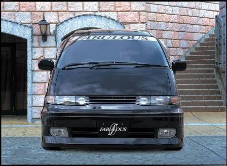ファブレス ルシーダ TCR/CXR10G・11G・20G・21G 前期 フロントバンパースポイラー FABULOUS