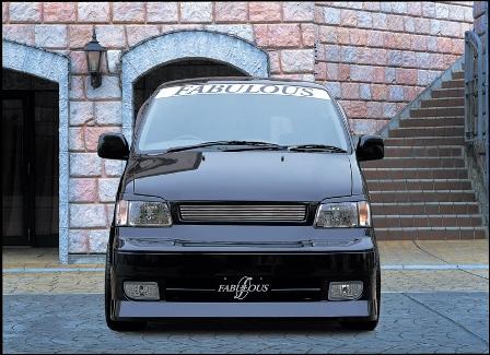 ファブレス ノア SR/CR40G・50G 前期 フロントバンパースポイラー REVISION2 FABULOUS