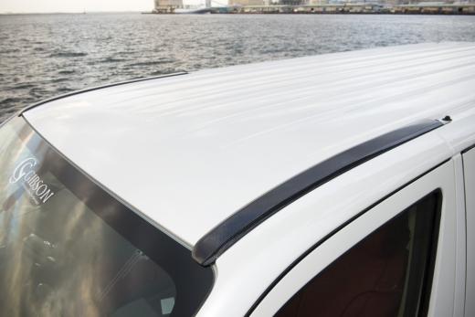GIBSON ギブソン キャラバン NV350 標準 ルーフレール保護カバー 未塗装 配送先条件有り