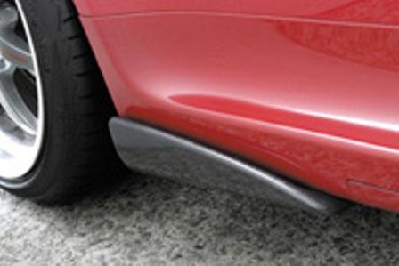 ガルビノ アルファロメオ アルファ147 GTA サイドスパッツ カーボン製 GARBINO