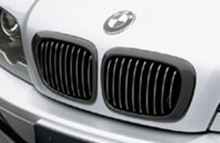 ガルビノ BMW 3シリーズ グリルガーニッシュ カーボン製 GARBINO