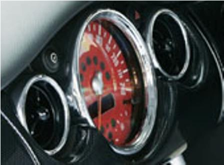ガルビノ ミニ R50 R52 R53 カラードメーターフィルム GARBINO