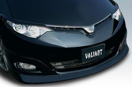 ガレージベリー エスティマ ASR GSR50系 AHR20 フロントリップスポイラー ウレタン 10-5131 GARAGE VARY VALIANT ヴァリアント