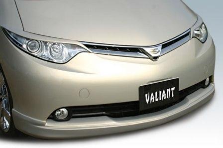 ガレージベリー エスティマ ASR GSR50系 AHR20 フロントリップスポイラー ウレタン 10-5132 GARAGE VARY VALIANT ヴァリアント