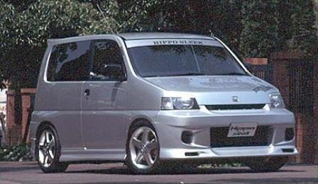 ヒッポスリーク S-MX サイドスポイラー HippoSleek STYLISH WAGON スタイリッシュ ワゴン