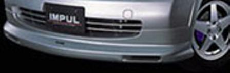 IMPUL インパル マーチ K12 前期 フロントハーフスポイラー FRP 未塗装