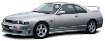 IMPUL インパル スカイライン R33 前期 フロントバンパー FRP/ゲルコート白