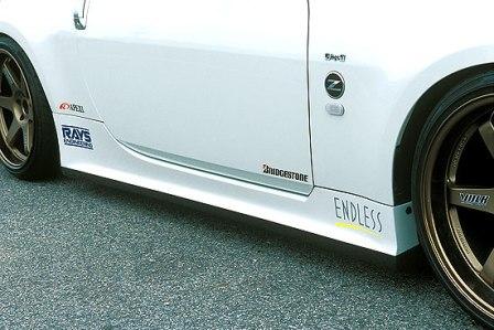 ings イングス フェアレディZ Z33 サイドステップ ハイブリットエアロ N-SPEC エヌスペック 個人宅発送追金有