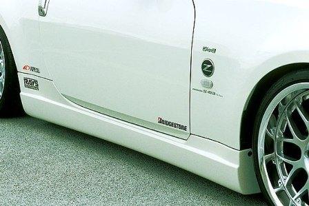 ings イングス フェアレディZ Z33 前期 クーペ/ロードスター サイドステップ ハイブリットエアロ LX-SPORT エルエックススポーツ 個人宅発送追金有