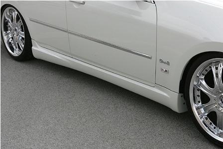 ings イングス フーガ GT250/GT350 前期 サイドステップ ハイブリットエアロ LX-SPORT エルエックススポーツ 個人宅発送追金有