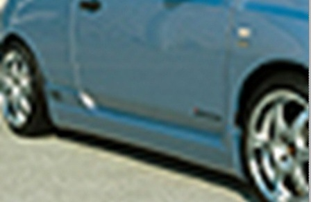 ings イングス マーチ K12 前期 サイドステップ ハイブリットエアロ LX-SPORT エルエックススポーツ 個人宅発送追金有